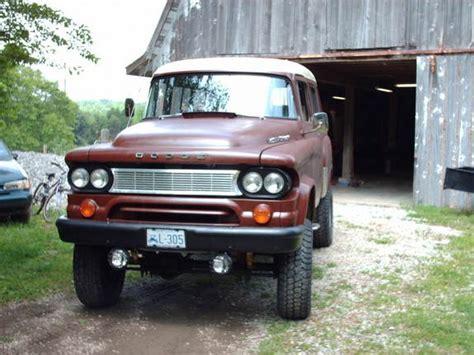 64 Dodge Power Wagon by Jcskylark 1964 Dodge Power Wagon Specs Photos