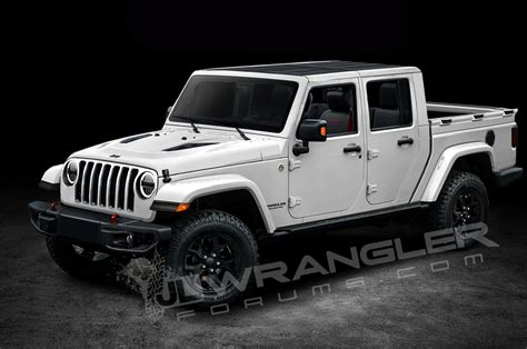 new jeep truck interior will the jeep wrangler pickup look like this motor trend