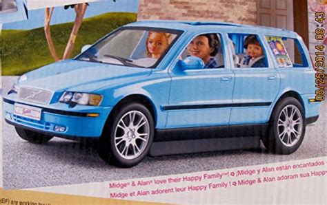 barbie cars with back barbie happy family volvo v70 vehicle van suv w car seat w