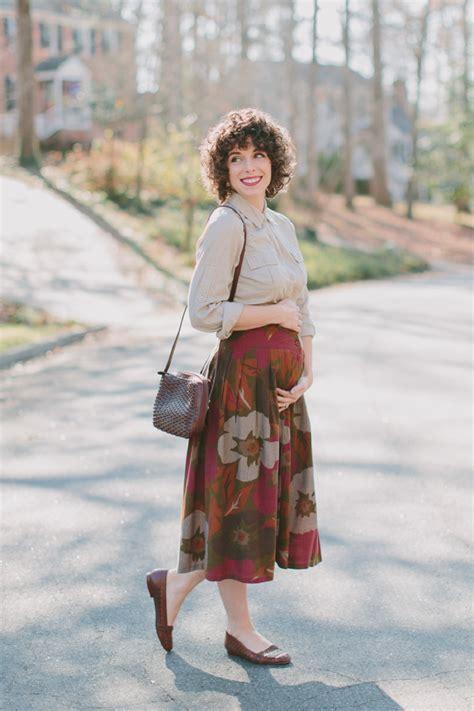 Vintage Skirt By Vintage Skirt watson wardrobe wednesday maternity vintage skirt