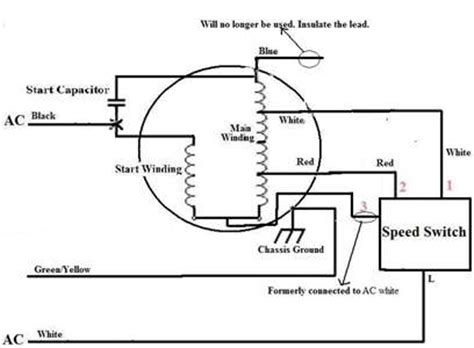how to the rotation of single phase capacitor
