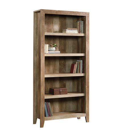 Dakota Showcase Shelving by Sauder Dakota Pass 5 Shelf Bookcase Home Furniture