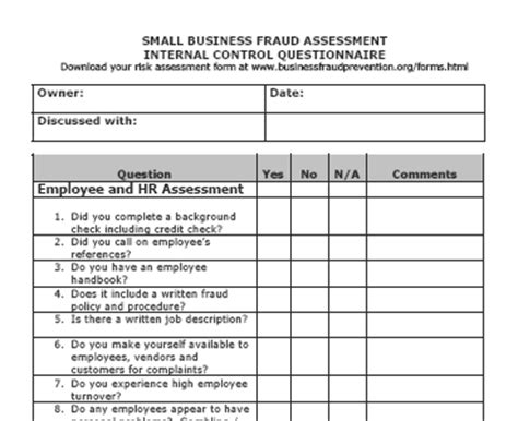 Credit Risk Assessment Template Sle Audit Program Accounts Blogsvista