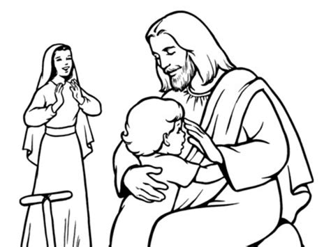 coloring page of jesus face jesus a carpenter colouring pages