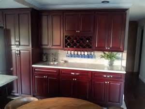 White Kitchen Cabinets And Cherry Floors » Home Design 2017