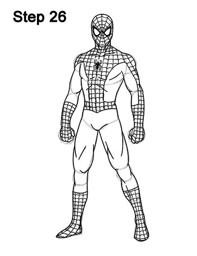 learn to draw marvel s spider learn to draw your favorite spider characters including spider the green goblin the vulture and more licensed learn to draw books image gallery spider drawings