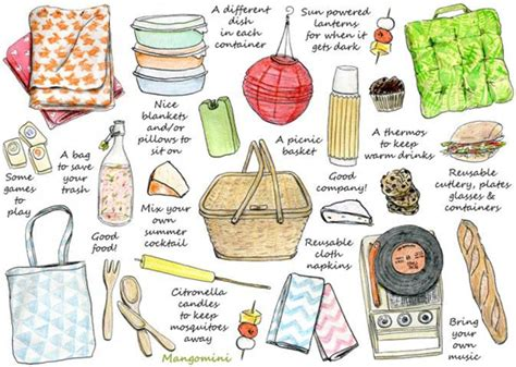 Checklist Of Things You Need For A Picnic by Tips Ricette E Consigli Per Organizzare Un Perfetto