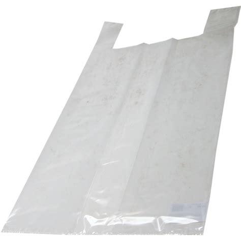 Tas Transparant tas ldpe hemd 37x17x70cm hemdtas transparant 290076 neutraal draagtassen