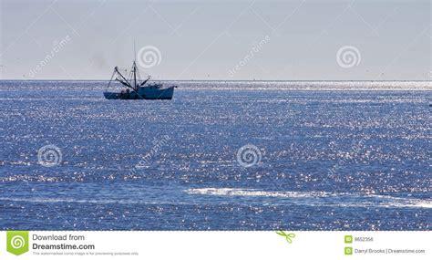 shrimp boat cruise shrimp boat on blue seas royalty free stock image image