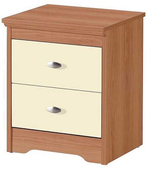 shelbourne 2 drawer bedside locker hj furniture