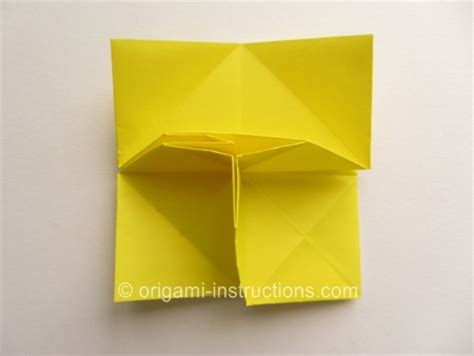 Origami Omuta - origami sunken omuta folding