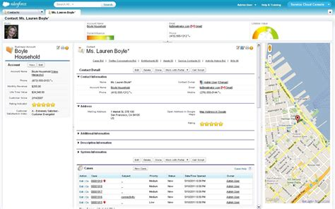 cloud console the service cloud console 0 click data with custom