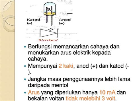 diod pemancar cahaya khb diod pemancar cahaya khb 28 images kemahiran hidup sekolah rendah elektronik tahun 5 diod