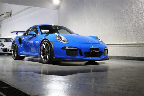 porsche blue gt3 voodoo blue porsche 991 gt3 rs looks magical