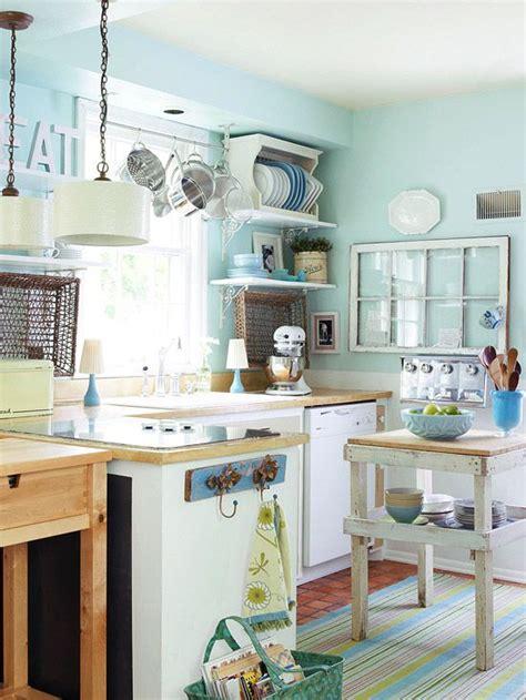 blue kitchen decor ideas 7 idee estive e creative per una cucina shabby chic