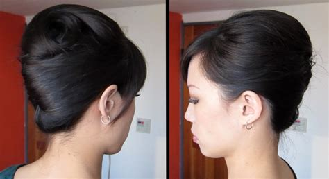 Twist Hairstyle Tools Clip Black And White by Twist Tutorial Updo For Thick Hair