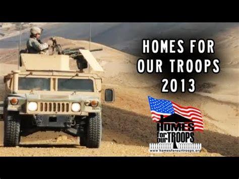 homes for our troops homes for our troops 100 more homes in 2013