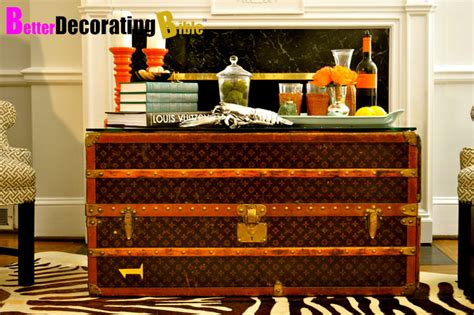 decorating trunk for decorating with louis vuitton trunks