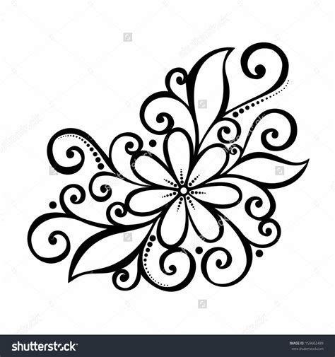easy floral designs gallery easy flower designs to draw on paper drawing