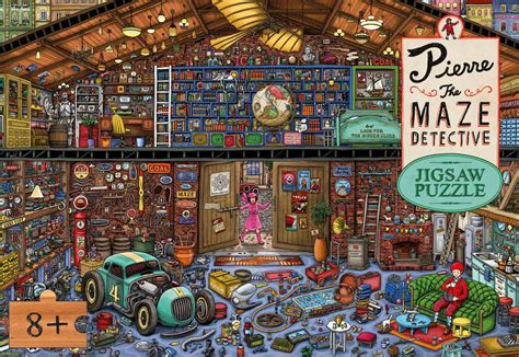 pierre the maze detective 1780675631 pierre the maze detective jigsaw puzzle puzzlewarehouse com