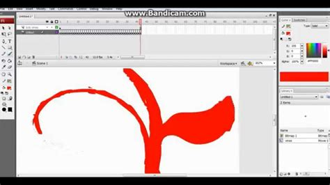 tutorial for flash cs3 adobe flash cs3 making growing vines easy tutorial 5