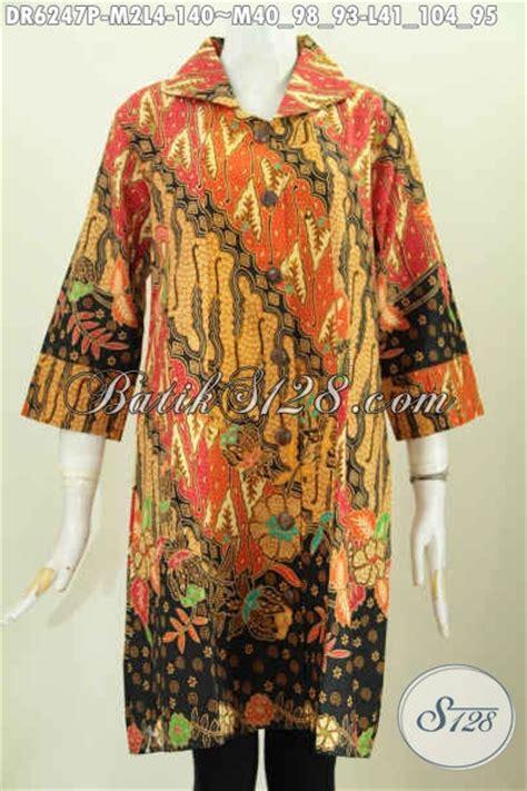 Baju Ibu Resmi model baju batik wanita terkini yang cocok buat kerja dan acara resmi size m l busana batik