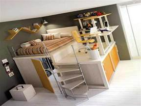 loft bed with desk underneath furniture ideas - Size Loft Bed With Desk Underneath