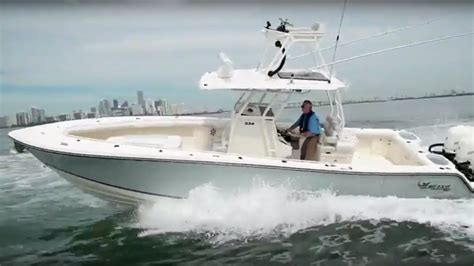 mako cc boats mako boats 334 cc sportfish edition complete review by