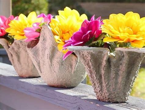 Pot Vas Bunga Handmade 06 ubah handuk jadi pot bunga unik coba bikin sendiri yuk