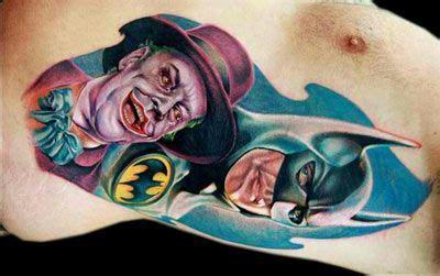 joker tattoo real 112 best superhero ink images on pinterest comic book