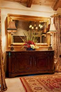 Buffet For Dining Room Bright Mirrored Buffet In Dining Room Mediterranean With
