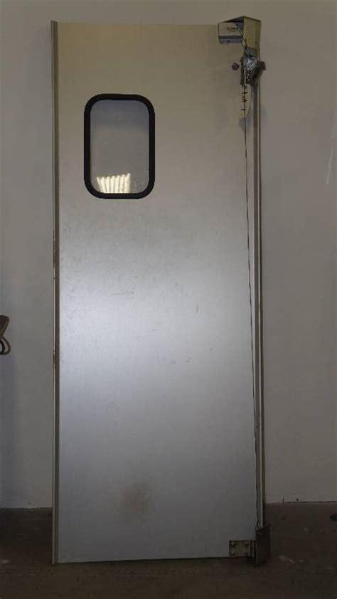 eliason swing doors eliason commercial swinging door industrial embroidery
