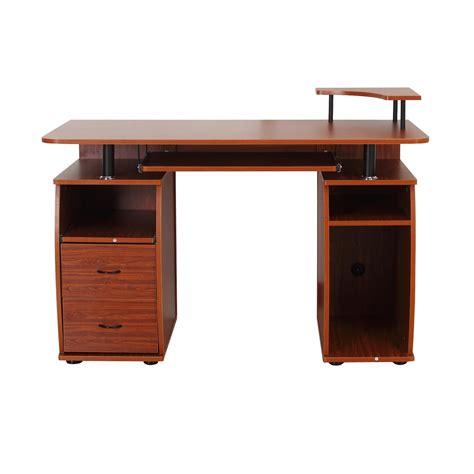 scrivania computer homcom scrivania per computer scrivania ufficio porta pc