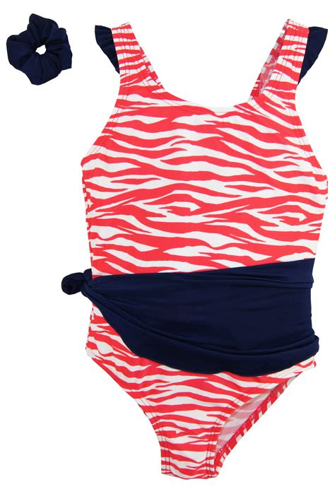 Number Print Swimsuit בגדי ים לתינוקות בנות number one toddler
