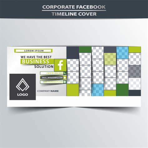 facebook layout free vector facebook timeline cover design vector free download
