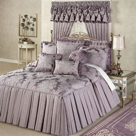 Comforters Bedspreads by Ambience Tailored Damask Grande Bedspread Bedding