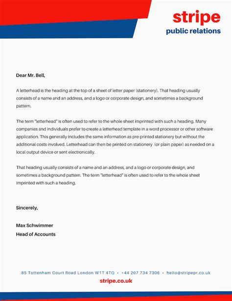 letterhead images printable letterhead