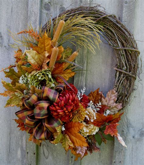 autumn wreath autumn wreath fall floral wreaths designer decor woodland
