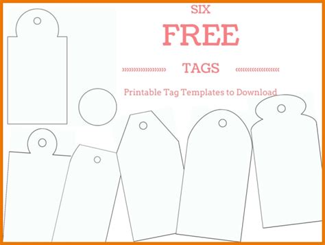 Free Printable Gift Tag Templates For Word Business Mentor Gift Tag Template Word