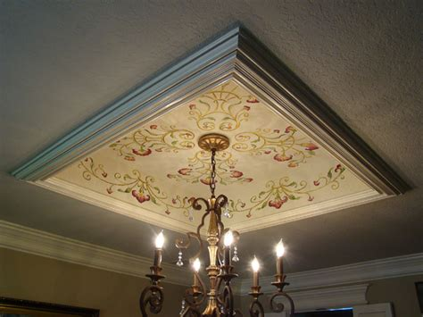 Faux Tray Ceiling by Before After