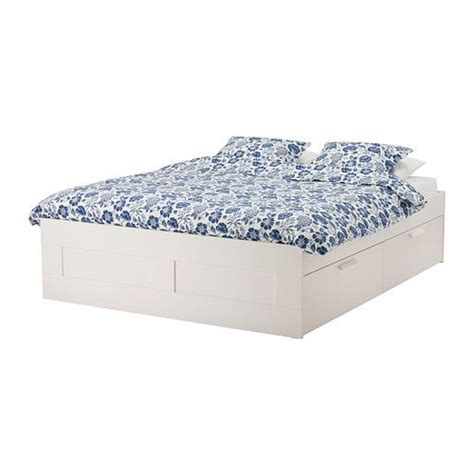 Brimnes Bed Frame With Storage White Brimnes Bed Frame With Storage White