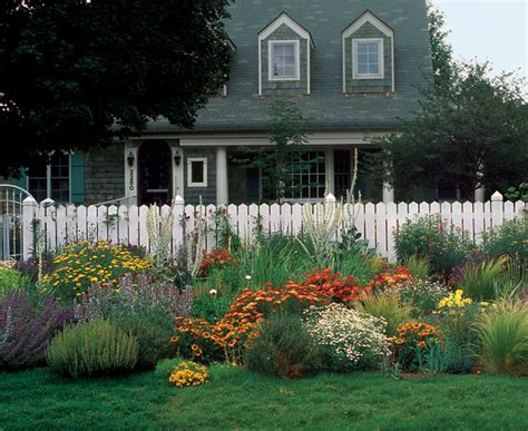 a front yard garden in no time fine gardening