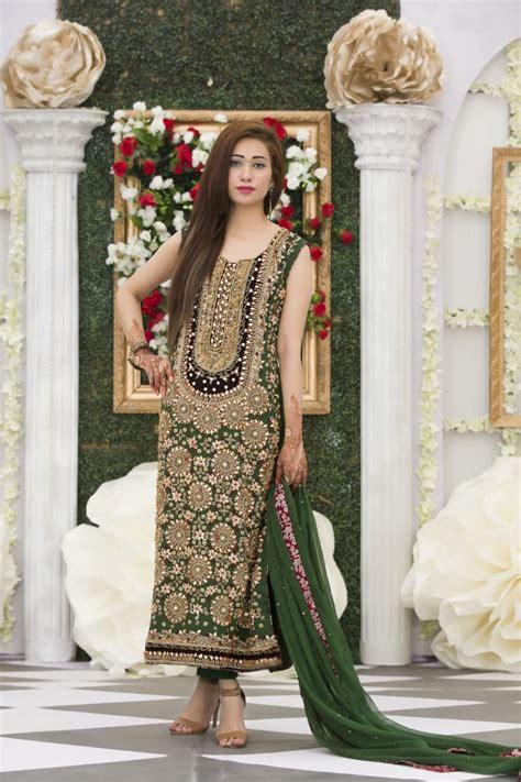 exclusive bottle green mehndi dress exclusiveinn com