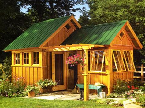 Unique Home Plans One Floor by Amish Garden Sheds Garden Shed Ideas Tiny Houses