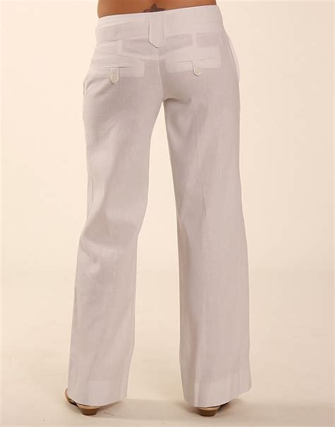 white linen fashion review white linen trousers