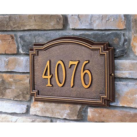 house numbers plaque williamsburg address plaque address plaques and house