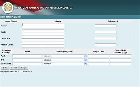 cara membuat e ktp secara online cara buat paspor baru secara online ikeni net