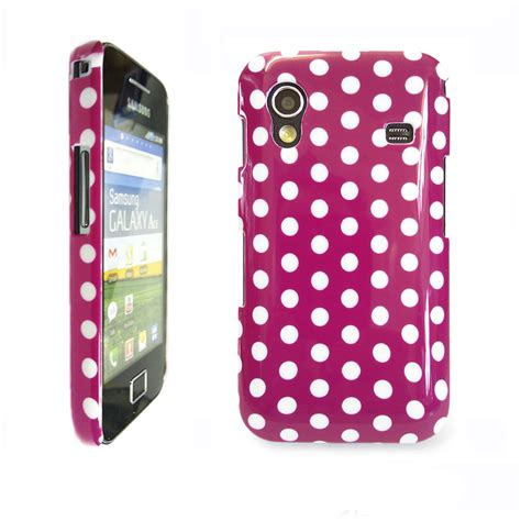 samsung galaxy ace s5830 phone case stylish pink white