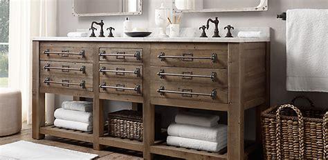 restoration hardware bathroom furniture bathroom collections rh