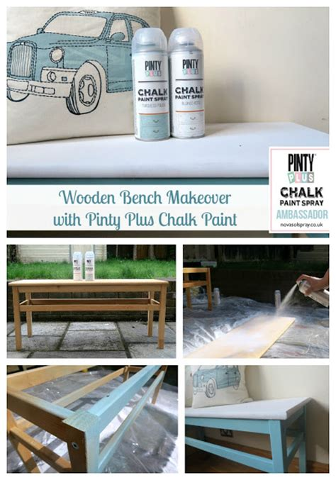 chalk paint bench wooden bench makeover with pinty plus chalk paint